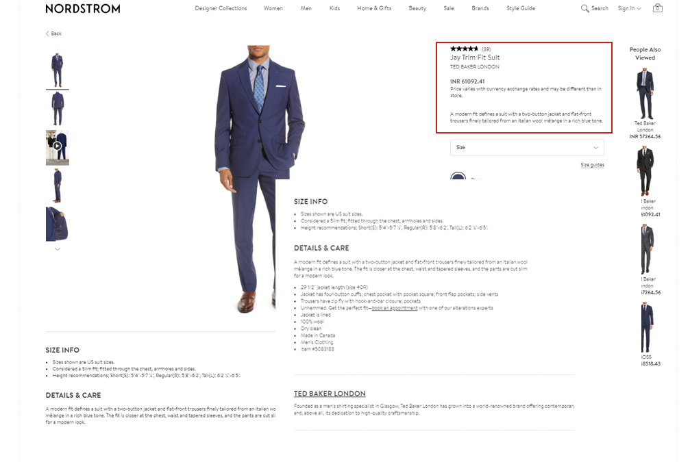 Scraping All Products Details from Nordstrom