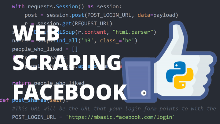 Facebook Data Extraction